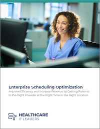 Enterprise Scheduling Optimization Cover Page